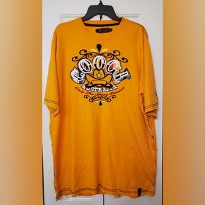 COOGI Box Logo T Neon Orange Short Sleeve sz XXL
